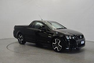 2009 Holden Ute VE MY09.5 SV6 Black 6 Speed Manual Utility.