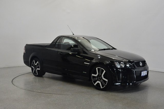 Used Holden Ute VE MY09.5 SV6, 2009 Holden Ute VE MY09.5 SV6 Black 6 Speed Manual Utility