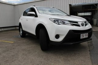 2014 Toyota RAV4 ZSA42R MY14 GX 2WD White 7 Speed Constant Variable Wagon.