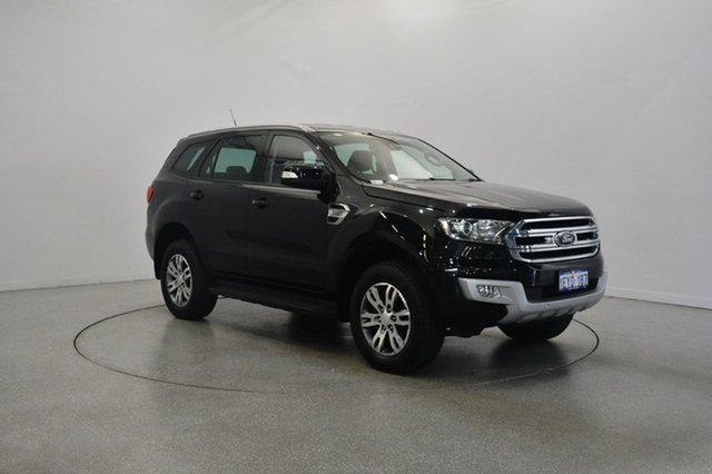 Used Ford Everest UA Trend 4WD, 2015 Ford Everest UA Trend 4WD Black 6 Speed Sports Automatic Wagon