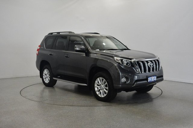 Used Toyota Landcruiser Prado KDJ150R MY14 VX, 2014 Toyota Landcruiser Prado KDJ150R MY14 VX Grey 5 Speed Sports Automatic Wagon