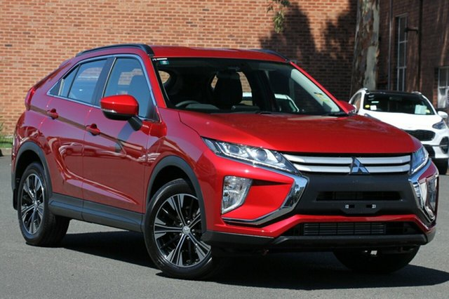 New Mitsubishi Eclipse Cross YA MY18 ES (2WD), 2018 Mitsubishi Eclipse Cross YA MY18 ES (2WD) Red Continuous Variable Wagon