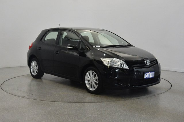 Used Toyota Corolla ZRE152R MY11 Ascent, 2011 Toyota Corolla ZRE152R MY11 Ascent Black 4 Speed Automatic Hatchback