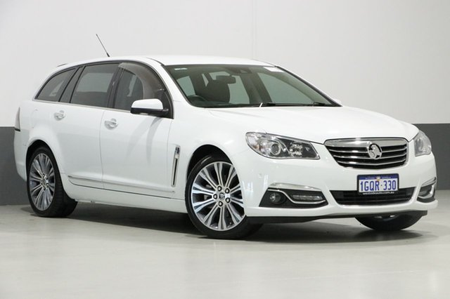 Used Holden Calais VF V, 2014 Holden Calais VF V White 6 Speed Automatic Sportswagon