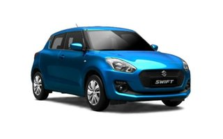 2018 Suzuki Swift AZ GL Navigator Safety Pack Speedy Blue 1 Speed Constant Variable Hatchback.