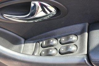 1999 Ford Fairlane AU Ghia Fawn 4 Speed Automatic Sedan