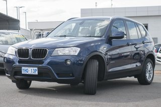 2011 BMW X3 F25 xDrive20d Steptronic Blue 8 Speed Automatic Wagon.
