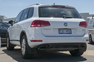 2013 Volkswagen Touareg 7P MY13 150TDI Tiptronic 4MOTION Campanella White 8 Speed Sports Automatic