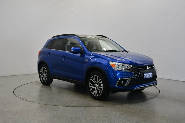 Used Mitsubishi ASX XC MY17 XLS 2WD, 2017 Mitsubishi ASX XC MY17 XLS 2WD Blue 6 Speed Constant Variable Wagon