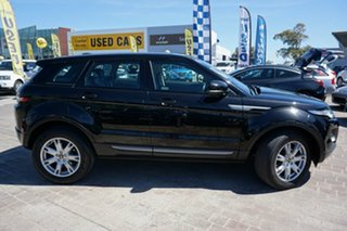 2013 Land Rover Range Rover Evoque L538 MY13 TD4 CommandShift Pure Black 6 Speed Sports Automatic