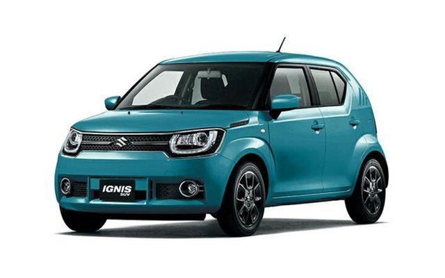 New Suzuki Ignis MF GLX, 2018 Suzuki Ignis MF GLX Neon Blue 1 Speed Constant Variable Hatchback