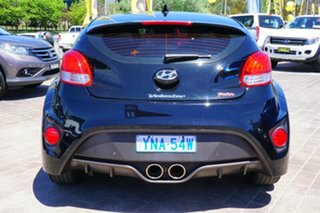2016 Hyundai Veloster FS4 Series II SR Coupe D-CT Turbo + Black 7 Speed Sports Automatic Dual Clutch