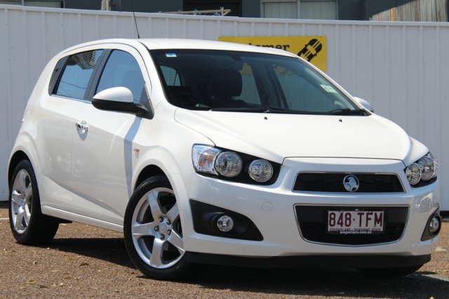 Used Holden Barina TM MY13 CDX, 2013 Holden Barina TM MY13 CDX White 6 Speed Automatic Hatchback