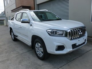 2018 LDV T60 SK8C Luxe White 6 Speed Sports Automatic Utility