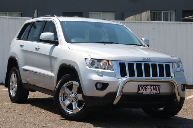 Used Jeep Grand Cherokee WK MY2013 Laredo, 2012 Jeep Grand Cherokee WK MY2013 Laredo Silver 5 Speed Sports Automatic Wagon