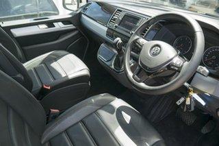 2017 Volkswagen Multivan T6 MY18 TDI450 SWB DSG Highline White 7 Speed Sports Automatic Dual Clutch.