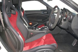 2021 Nissan 370Z Z34 MY20 Nismo Shiro White 7 Speed Sports Automatic Coupe