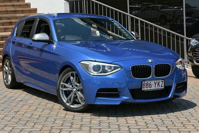 Used BMW M135i F20 Steptronic, 2013 BMW M135i F20 Steptronic Blue 8 Speed Sports Automatic Hatchback