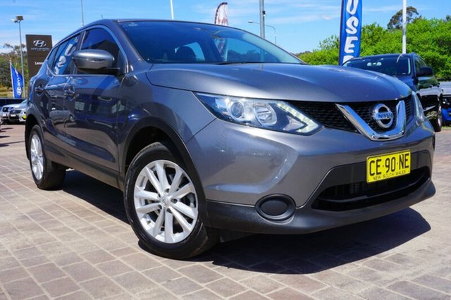 Used Nissan Qashqai J11 ST, 2015 Nissan Qashqai J11 ST Grey 1 Speed Constant Variable Wagon