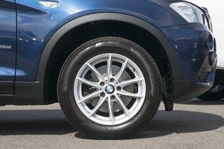 2011 BMW X3 F25 xDrive20d Steptronic Blue 8 Speed Automatic Wagon