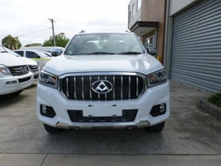 2018 LDV T60 SK8C Luxe White 6 Speed Sports Automatic Utility.
