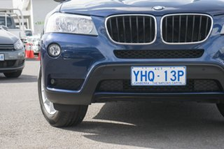 2011 BMW X3 F25 xDrive20d Steptronic Blue 8 Speed Automatic Wagon