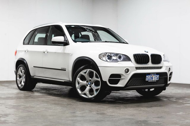 Used BMW X5 E70 MY1112 xDrive30d Steptronic, 2013 BMW X5 E70 MY1112 xDrive30d Steptronic White 8 Speed Sports Automatic Wagon