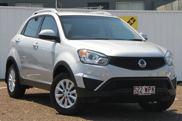 Used Ssangyong Korando C200 MY15 S 2WD, 2014 Ssangyong Korando C200 MY15 S 2WD Silver 6 Speed Manual Wagon