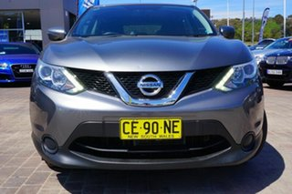 2015 Nissan Qashqai J11 ST Grey 1 Speed Constant Variable Wagon.