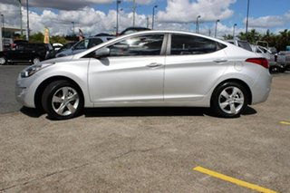 2011 Hyundai Elantra MD Elite Silver 6 Speed Sports Automatic Sedan.
