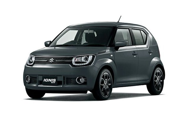 Demo Suzuki Ignis MF GL, 2018 Suzuki Ignis MF GL Mineral Grey 1 Speed Constant Variable Hatchback