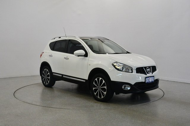 Used Nissan Dualis J10W Series 3 MY12 Ti-L X-tronic AWD, 2012 Nissan Dualis J10W Series 3 MY12 Ti-L X-tronic AWD White 6 Speed Constant Variable Hatchback