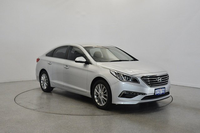 Used Hyundai Sonata LF2 MY16 Active, 2016 Hyundai Sonata LF2 MY16 Active Platinum Silver Metallic 6 Speed Sports Automatic Sedan