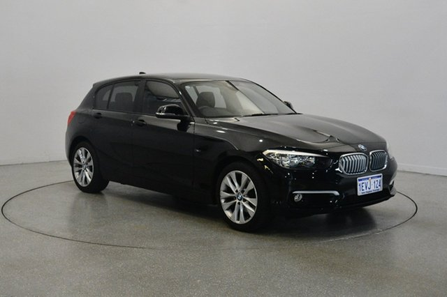 Used BMW 120i F20 LCI Urban Line Steptronic, 2015 BMW 120i F20 LCI Urban Line Steptronic Black 8 Speed Sports Automatic Hatchback