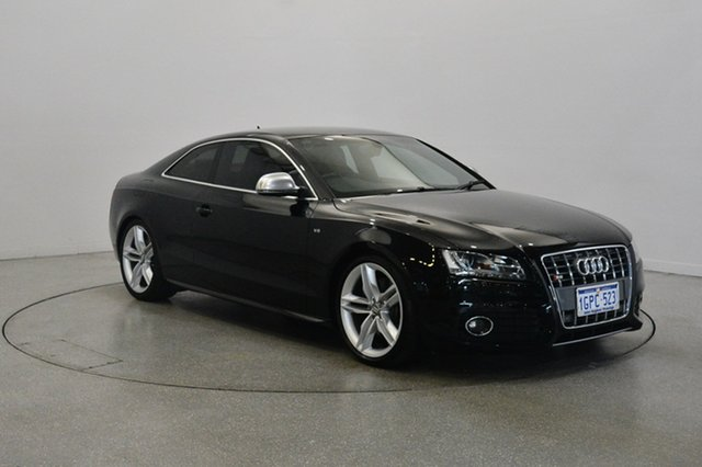 Used Audi S5 8T Quattro, 2008 Audi S5 8T Quattro Black 6 Speed Manual Coupe