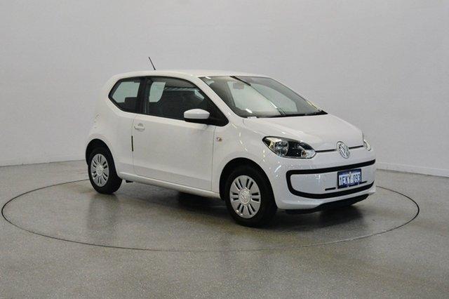 Used Volkswagen UP! Type AA MY14 , 2014 Volkswagen UP! Type AA MY14 White 5 Speed Manual Hatchback