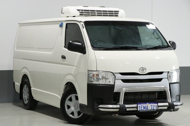Used Toyota HiAce KDH201R MY12 Upgrade LWB, 2014 Toyota HiAce KDH201R MY12 Upgrade LWB White 5 Speed Manual Van