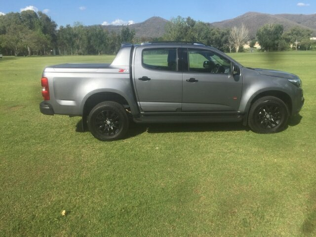 Used Holden Colorado RG MY18 Z71 (4x4), 2017 Holden Colorado RG MY18 Z71 (4x4) Satin Steel Grey 6 Speed Automatic Crew Cab Pickup