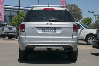 2013 Ford Territory SZ TS Seq Sport Shift Silver 6 Speed Sports Automatic Wagon
