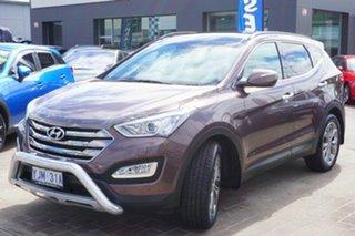 2013 Hyundai Santa Fe DM MY13 Highlander Arabian Mocha 6 Speed Sports Automatic Wagon.