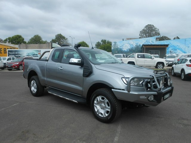 Used Ford Ranger PX MkII XLT Super Cab, 2015 Ford Ranger PX MkII XLT Super Cab Aluminium 6 Speed Manual Utility