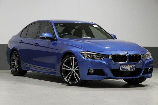 Used BMW 320d F30 LCI M Sport, 2016 BMW 320d F30 LCI M Sport Blue 8 Speed Automatic Sedan