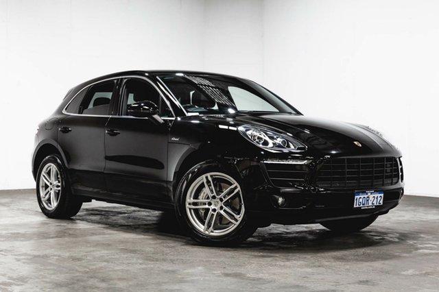 Used Porsche Macan 95B MY16 S PDK AWD Diesel, 2015 Porsche Macan 95B MY16 S PDK AWD Diesel Black 7 Speed Sports Automatic Dual Clutch Wagon
