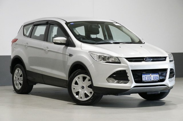 Used Ford Kuga TF MK 2 Ambiente (FWD), 2015 Ford Kuga TF MK 2 Ambiente (FWD) Moondust Silver 6 Speed Automatic Wagon