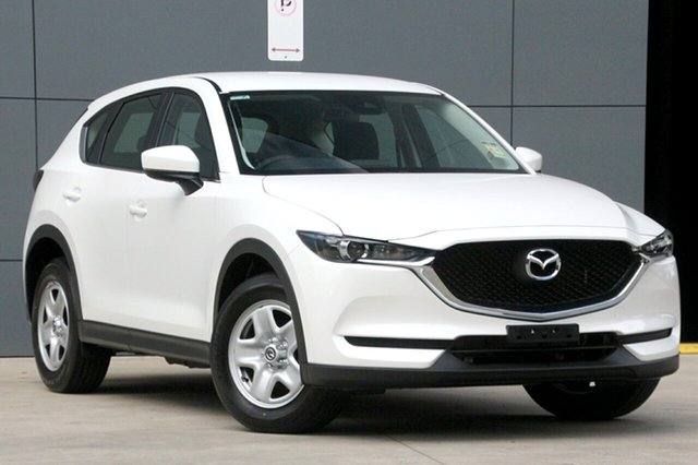 New Mazda CX-5 KF2W7A Maxx SKYACTIV-Drive FWD, 2018 Mazda CX-5 KF2W7A Maxx SKYACTIV-Drive FWD Snowflake White 6 Speed Sports Automatic Wagon