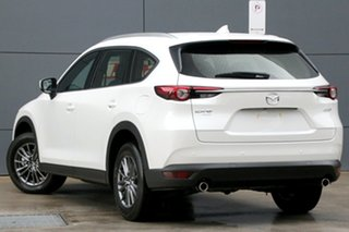 2018 Mazda CX-8 KG4W2A Sport SKYACTIV-Drive i-ACTIV AWD Snowflake White 6 Speed Sports Automatic.