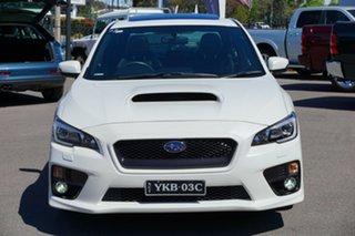2014 Subaru WRX V1 MY15 Premium Lineartronic AWD White 8 Speed Constant Variable Sedan.