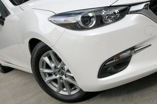 2018 Mazda 3 BN5478 Touring SKYACTIV-Drive Snowflake White 6 Speed Sports Automatic Hatchback.