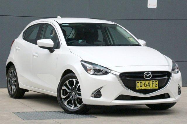 Demo Mazda 2 DJ2HAA Genki SKYACTIV-Drive, 2018 Mazda 2 DJ2HAA Genki SKYACTIV-Drive Snowflake White 6 Speed Sports Automatic Hatchback