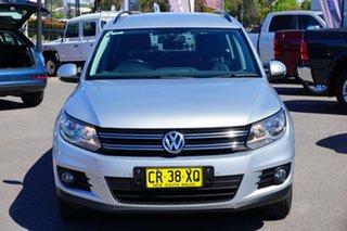 2013 Volkswagen Tiguan 5N MY13.5 103TDI DSG 4MOTION Pacific Reflex Silver 7 Speed.